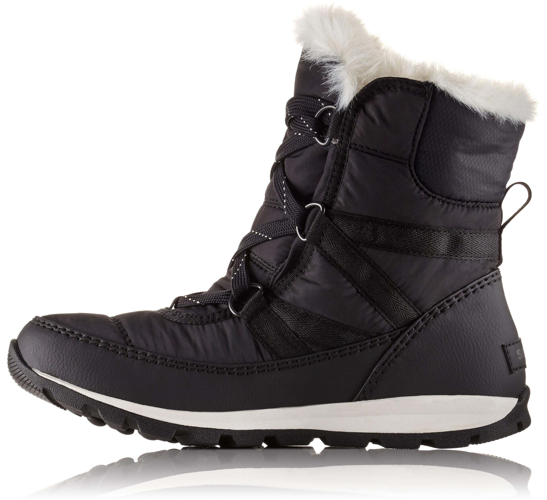 2f9c10abf Sorel Whitney Short Lace Boots Women black at Addnature.co.uk